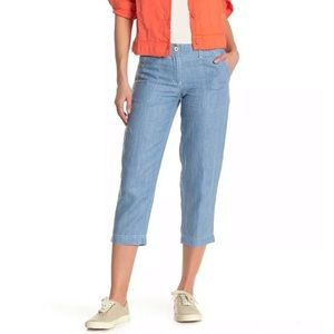 New Tommy Bahama Sea Glass Cropped Pants